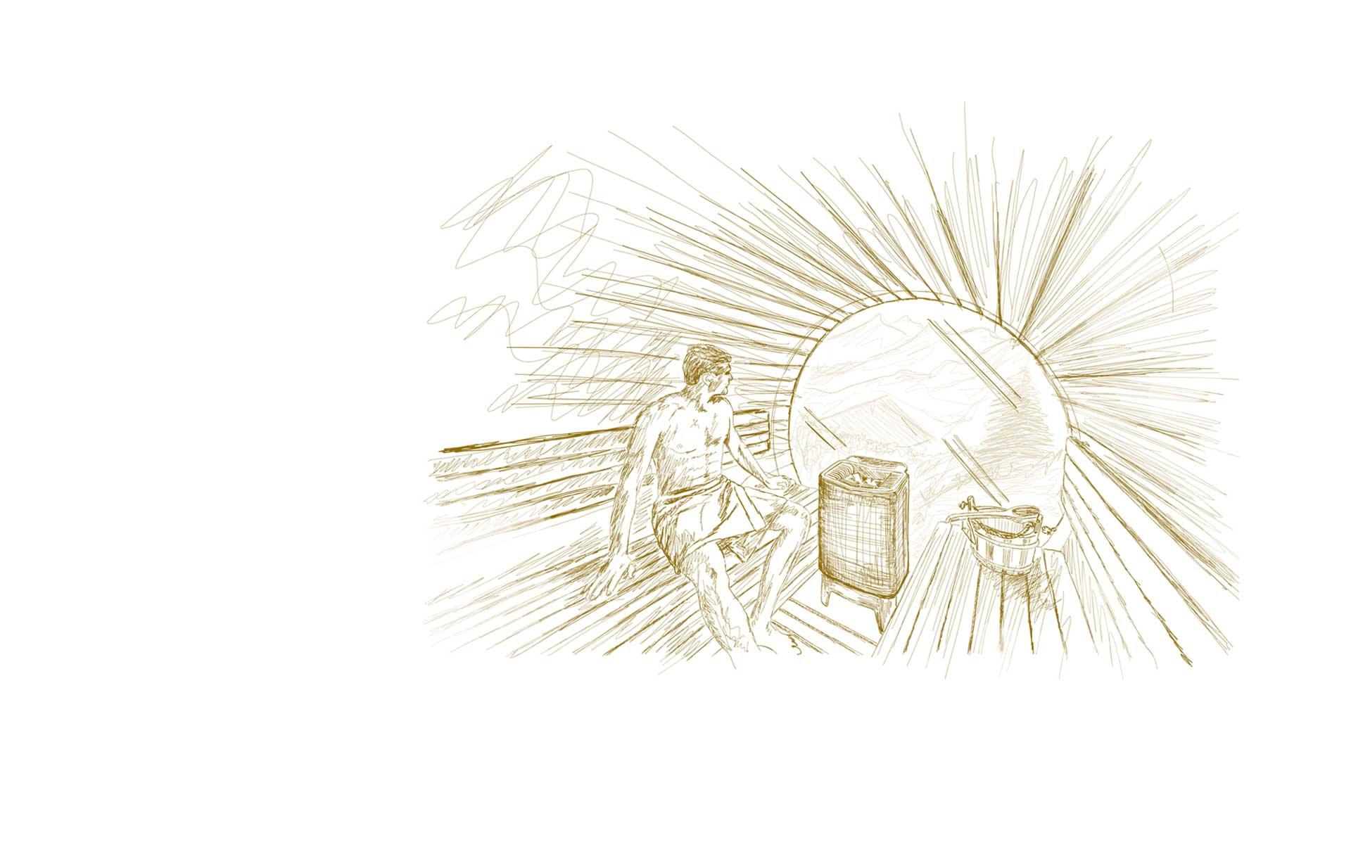 sauna poele